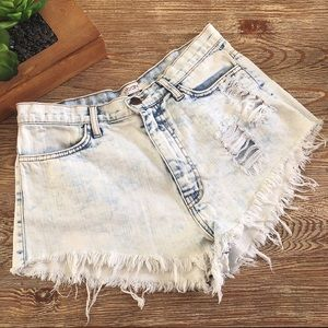 ✨Festival Acid Wash Shorts✨